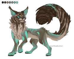 [OPEN] Adopt Auction : Kat by BelieveTheHorror