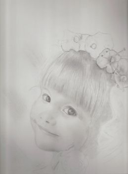 WIP..My niece. by sleepydawg