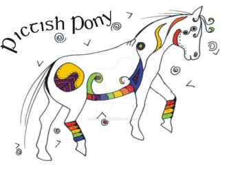 Pictish Pony II - colour by tuatha-isles