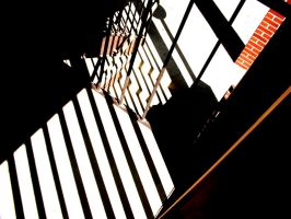 Prison Stairs by Sunspot01