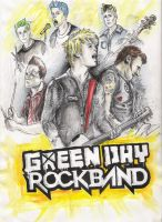 Green Day Authority contest by violeta1354