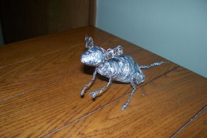 Wire Mouse Figure 2 by Foxfin