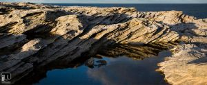 Cliff reflections II by ximo