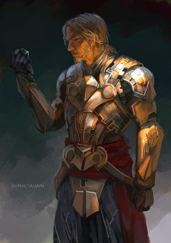 Edward in Mayan Armor by sunsetagain