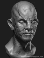 Warm up sculpt #1 by x-ste-x