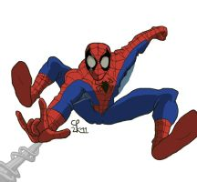 Here Comes the Spider-Man by Anicomicgeek