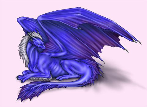 My Personal Dragon - Colored by Jianre-M