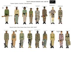 South African Border War 1969-89  by camorus----234
