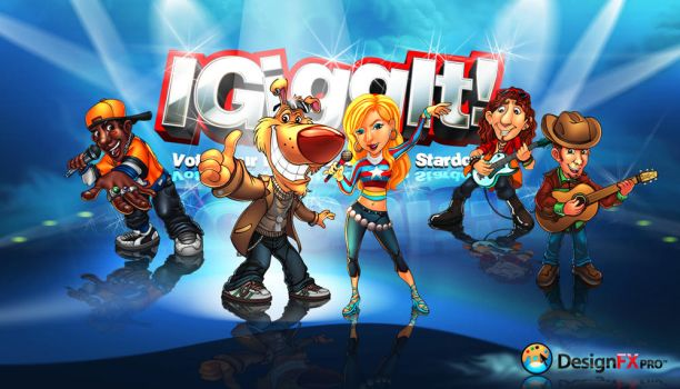 Igiggit mascots by designfxpro