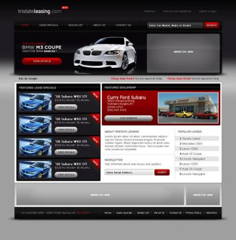 tristate-leasing.com Interface by duo