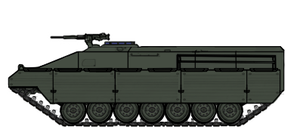 M54C Hetairoi Troop Carrier by Mr-Ichart