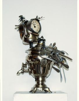 Clock bird 2 by Muti-Valchev