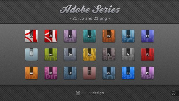 Adobe Series by GuillenDesign