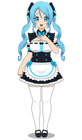 :~ Hello! I'm the maid sent by Cyberlife! ~: by SakuraRoseLily