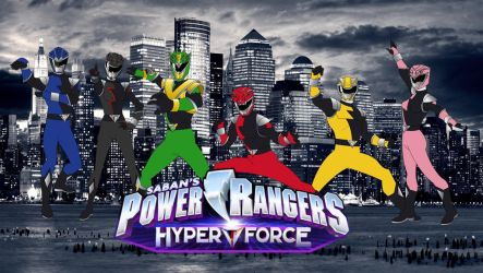Power Rangers Hyperforce By Ruddyes by Ruddyes