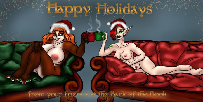Happy Holidays! by Back-of-the-Book