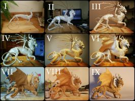 Kirin Dragon - the whole process step by step by RedPersik