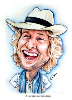 Owen Wilson by cjgyen
