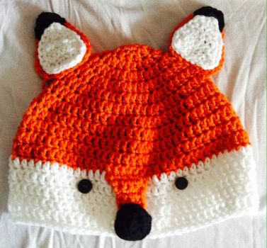 Daily Works #9 : Kitsune hat by CeciliaSal