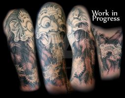mask half sleeve by All-Wolff