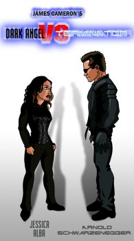 Dark Angel vs Terminator by deanfenechanimations