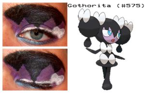 Pokemakeup 575 Gothorita