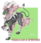 Houndoom X Spiritomb by Seoxys6