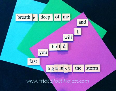 The Daily Magnet #310 by FridgePoetProject