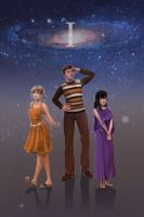 Doctor Who companions - II by Power-and-Chaos