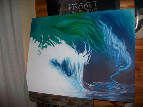 WIP - Most recent painting by makusa-san