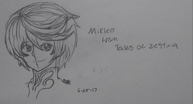 Mikleo from TOZ by EmpatheticMortalAnge