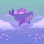 Atlantis Whale by mofufuu