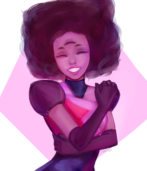 Garnet - Made of Love by Usuii00