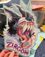 Zircon Badge [COMM] by lightningstar1389