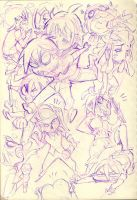 Debaser one-shot doodles! by Rafchu
