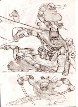 Batman Tmnt 0.1 unnfinished by nic011