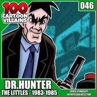 100 Cartoon Villains - 046 - Dr. Hunter! by CreedStonegate