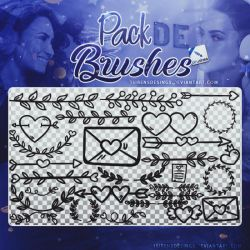 ~~.Pack de Brushes #1 by ISirensDesigns