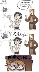 The Force is screwed in this one by wikigiuli