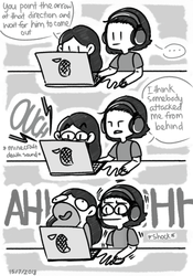 When i play minecraft with my lil sis by sweetmashmellowroom