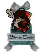 December 3 - Chiimney Ember JR (teaser chibi) by Thalliumfire