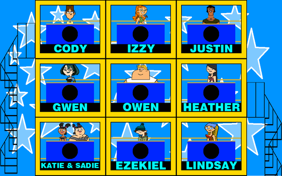 Total Drama Squares by mrentertainment