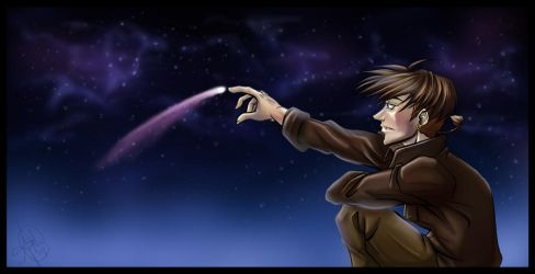 Space Art - Treasure Planet by Ahr0