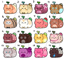 Catbean Batch 4 - Set Price [CLOSED] by HopefulAdopts