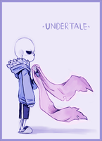 Sans (again again) by Skimmywolf
