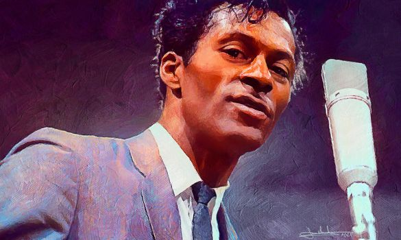 Chuck Berry by MaxHitman