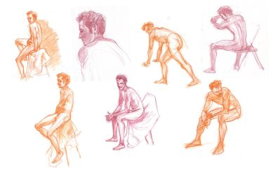 Life Drawing-October 2011 by ChristineAltese