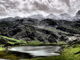 Lake Ercina in Asturias, Spain by vmribeiro