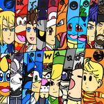 Brawl Newcomers by WhiteRose1994