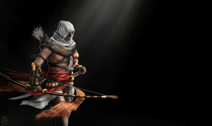 Assassin's Creed Origins Bayek by RobbSimon